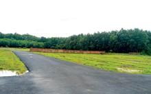 Đất phân lô bán nền ăn theo sân bay được rao bán.