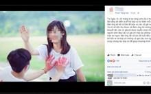 Người  tung tin có lễ hội sờ ngực làm từ thiện tại công viên 29/3 để câu like, thu hút khách. Ảnh: Chụp màn hình.