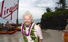 Rcihard Branson nổi tiếng với những việc làm không giống ai. Ảnh: AFP