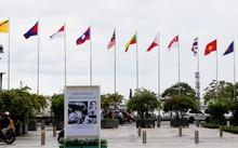 Hướng ra Công viên Bến Bạch Đằng trên đường Tôn Đức Thắng sẽ cấm đường để tổ chức kỷ niệm 50 năm ngày thành lập ASEAN