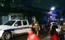 Cảnh sát 113 được điều động tới hiện trường giải quyết vụ việc