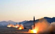 Triều Tiên liên tiếp phóng thử tên lửa trong thời gian qua. (Ảnh: KCNA)