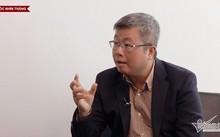 Ông Nguyễn Thanh Lâm, Cục trưởng Cục Phát thanh truyền hình và Thông tin điện tử, Bộ Thông tin và Truyền thông chia sẻ với Góc nhìn thẳng về mạng xã hội (ảnh: VietNamNet)