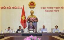 Chủ tịch Quốc hội Nguyễn Thị Kim Ngân chủ trì và phát biểu khai mạc Phiên họp thứ 13 của Ủy ban Thường vụ Quốc hội.