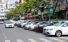 Đường Phan Bội Châu - một trong những tuyến đường được thực hiện thí điểm mô hình đỗ xe trả phí qua điện thoại