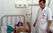 Nạn nhân bị bỏng đang điều trị tại Cần Thơ.