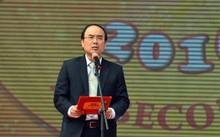 Ông Nguyễn Hồng Linh - TGĐ Habeco phát biểu tại một sự kiện