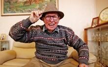 Bert ở tuổi 101. Ảnh: Sam Ruttyn.