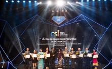 Vinh danh 100 doanh nghiệp bền vững 2017