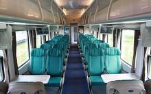 Thiết kế bên trong các toa tàu mới. Ảnh: Sai Gon Railways.
