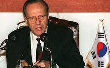 Ông William Perry, cựu quan chức phụ trách vấn đề chính sách đối với Triều Tiên của Mỹ dưới thời cựu Tổng thống Mỹ Bill Clinton. Ảnh: Getty Images