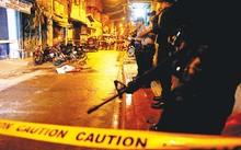 Hiện trường nghi phạm ma túy bị bắn chết ở TP Pasig - Philippines. Ảnh: Reuters