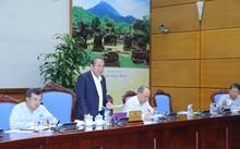 Phó Thủ tướng Trương Hoà Bình chủ trì cuộc họp. Ảnh: VGP/Lê Sơn