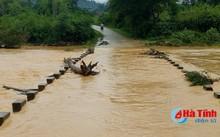 Hà Tĩnh: Lốc xoáy và lũ quét xuất hiện do ảnh hưởng từ cơn bão số 4