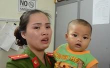 Bé trai bị bỏ rơi trong nhà nghỉ được nữ Thiếu úy công an cưu mang