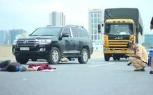 Thanh niên lái xe máy vào đường trên cao tử vong do va chạm với ô tô