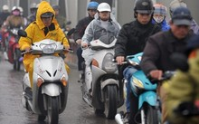 Thời tiết ngày 17/10: Không khí lạnh gây mưa toàn Bắc Bộ và Bắc Trung Bộ