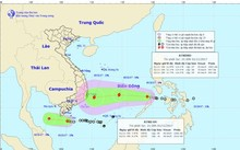 Áp thấp nhiệt đới sẽ đổ bộ vào Đông Nam Bộ trong ngày 3/11