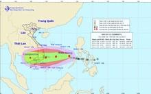 Áp thấp nhiệt đới mạnh lên thành bão,giật cấp 14