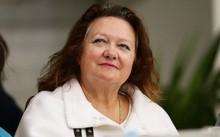 'Bà hoàng quặng sắt' lại lần nữa giữ ngôi vị 'người giàu nhất nước Úc'