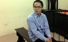 Bị cáo Hoàng tại phiên tòa. Ảnh: Vietnamnet