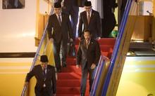 Quốc vương Brunei tự mình điều khiển chuyên cơ trong chuyến bay đến Đà Nẵng. Ảnh: NLĐ