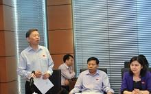 Bộ trưởng Tô Lâm phát biểu tại phiên thảo luận. Ảnh: Thanh Niên