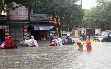 Mưa to khiến Nam Trung Bộ có nguy cơ ngập lụt