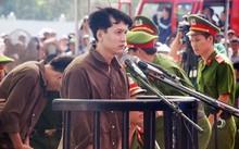 Thủ phạm Nguyễn Hải Dương tại phiên tòa xét xử vụ thảm sát tại Bình Phước. Ảnh: Vietnamnet