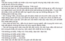 Bài viết được vợ NSƯT Xuân Bắc chia sẻ trên trang cá nhân.