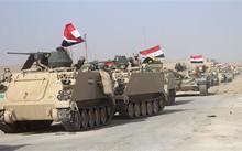 Máy bay Iraq dội bom tiêu diệt hơn 300 quân IS