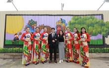 Bức tranh Trung Thu 3D dài nhất Việt Nam khiến nhiều người thích thú