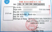 Số thẻ BHYT sẽ thay bằng mã số BHXH
