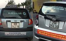 """Taxi truyền thống tung nhiều """"chiêu"""" chống đỡ cảnh ế khách trước sự tấn công của Uber/Grab."""