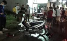 Hiện trường vụ tai nạn ở phường Thuận Giao, Thuận An khiến người phụ nữ mang bầu tử vong tại chỗ