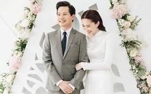 Hoa hậu Đăng Thu Thảo ảnh phúc bên ông xã
