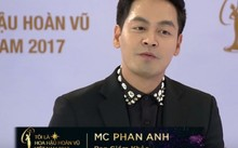 MC Phan Anh - thành viên ban giám khảo vòng sơ tuyển
