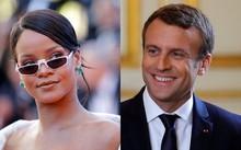 Rihanna gặp tổng thống Pháp Macron để bàn về giáo dục