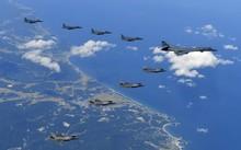 Mỹ - Hàn và Nga – Trung đồng loạt tập trận