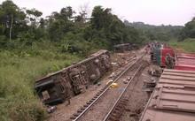 Tai nạn tàu hỏa ở Congo, ít nhất 34 người thiệt mạng