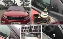 Hình ảnh xe ô tô bị lấy cắp mất gương khi để tại Gamuda Garden