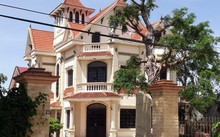 Căn biệt thự của gia đình ông Nguyễn Xuân Thái