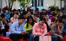 Các thí sinh tham dự kỳ thi công chức năm 2017 tại Cà Mau