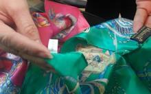 Sản phẩm của Khải Silk lại được gắn mác Trung Quốc