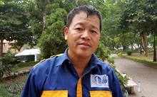 Anh Phạm Danh Khoa - Tổ trưởng tổ cống ngầm, Xí nghiệp thoát nước số 4, Công ty TNHH MTV Thoát nước Hà Nội.