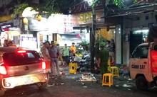 30 thanh niên hỗn chiến với bảo vệ quán bar, súng nổ khiến 2 người bị thương