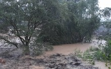 Mưa lớn gây lũ ở Quảng Nam