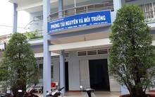 Cán bộ Phòng Tài nguyên và Môi trường huyện Phú Quốc bị bắt
