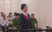 Bị cáo Phan Thúy Mai tại phiên tòa xét xử.
