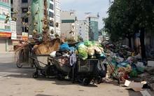 Rác bủa vây các tuyến đường thành phố Hạ Long